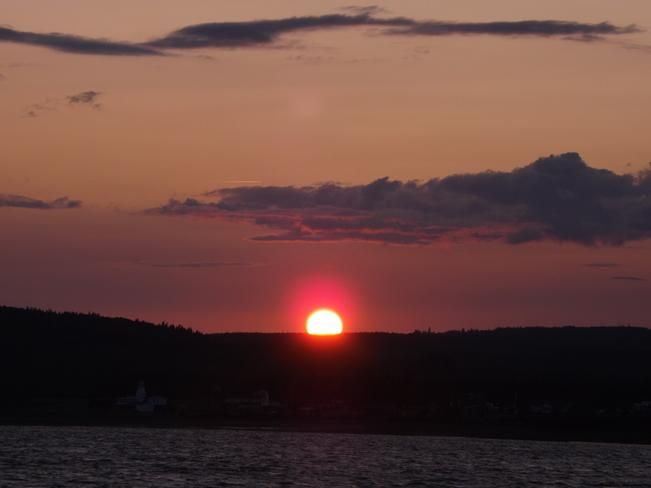 Sun Set Five Islands, NS
