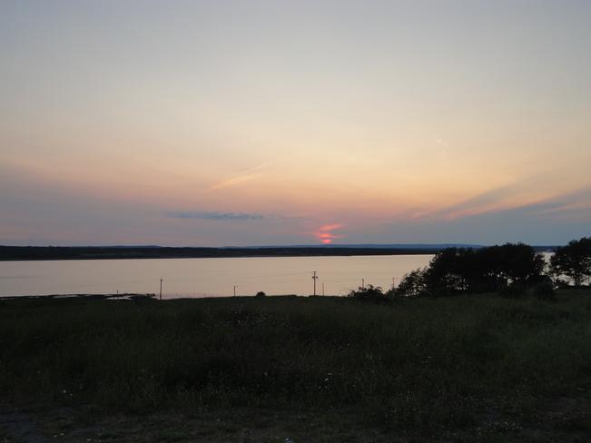 Sunset on Sunday Sydney, Nova Scotia Canada
