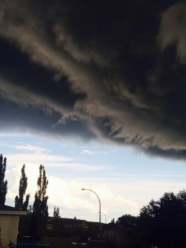 A brewing storm Travers, Alberta Canada