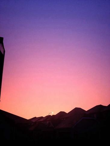 Beautiful Sky Winnipeg, Manitoba Canada