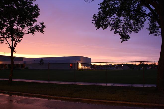 Stormy skies clear in Winnipeg Transcona, Winnipeg, MB