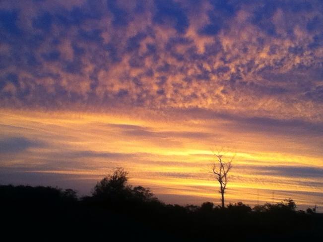 Amazing sunset Sydney, NS