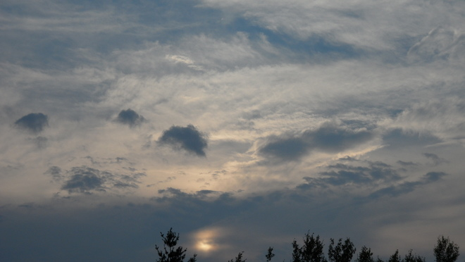 mountains in the sky Oromocto, NB
