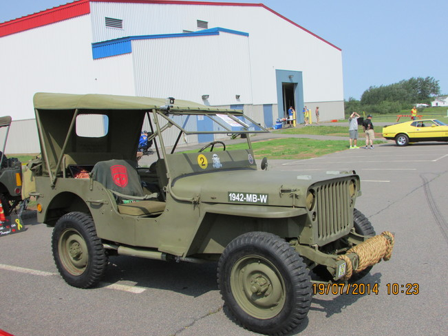 1942 army jeep Springhill, NS