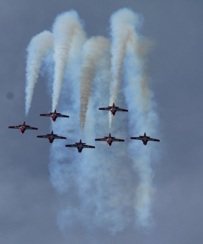 Air show ROCKED.Thank you! calgary ab
