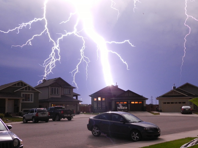 Lethbridge Thunder Storm Lethbridge, AB