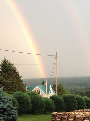 Looking For A Pot Of Gold Douglastown, Quebec Canada