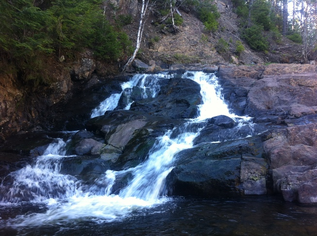 Water Falls burnside park upper stewiacke ns