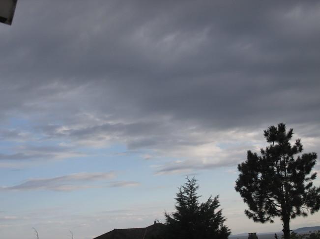 changing skies Surrey, BC
