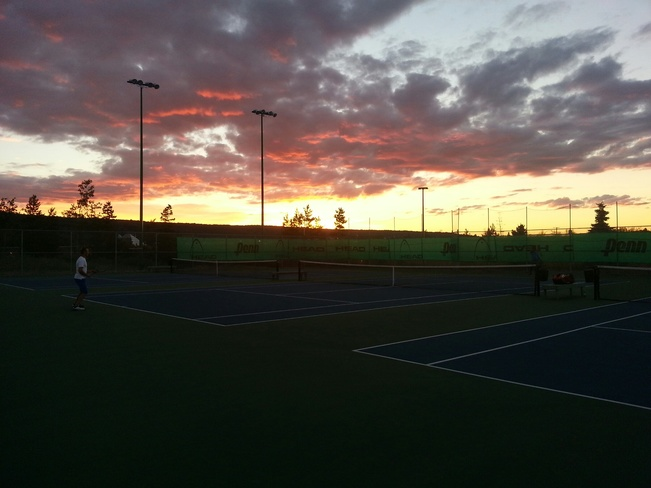 Another great night for tennis at the Prince George Tennis Club! Prince George, BC