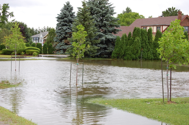 Flooding West St Catharines July 28 2014 St Catharine