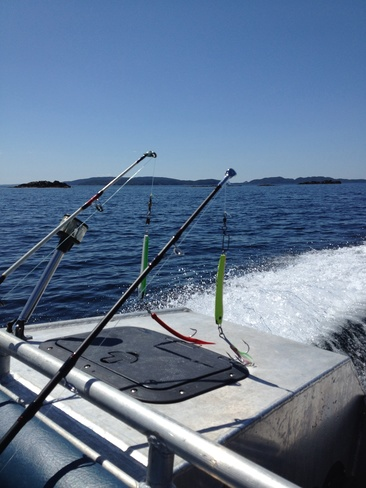 All Ready To Catch The Big One Birchy Bay, Newfoundland and Labrador Canada
