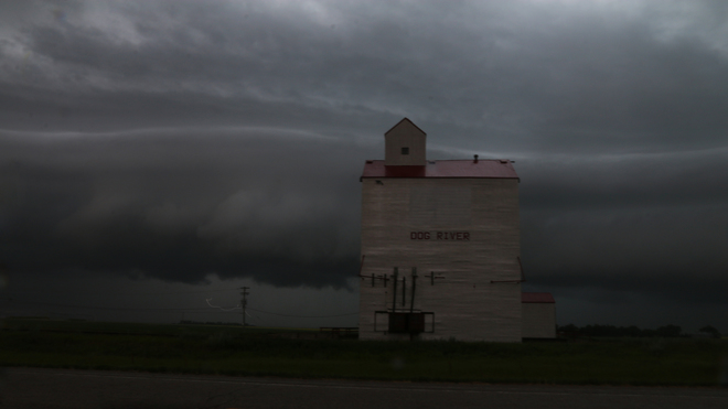 Straight Wind Front at Dog River, AKA Rouleau, Saskatchewan Rouleau, SK