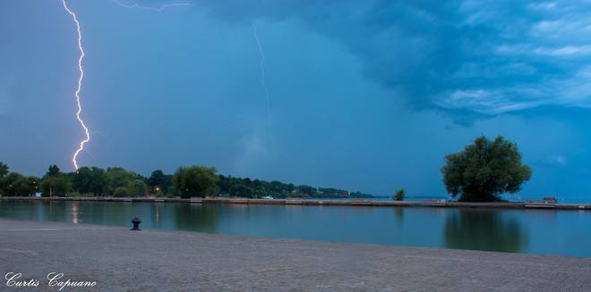 Another storm shot in Port D. Port Dalhousie, St. Catharines, ON