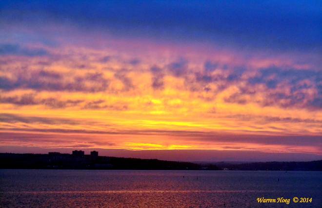 """Fire In The Sky"" Halifax, NS"