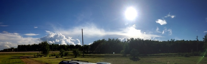 Let It Shine Down On Us St. Malo, Manitoba Canada