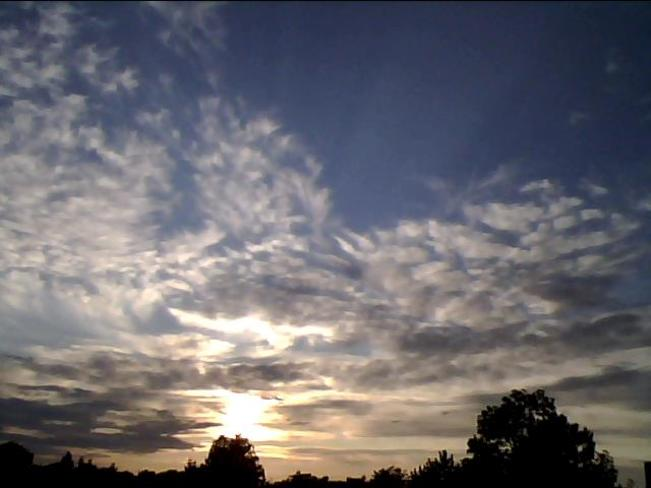 Clouds Above London, Ontario, Canada
