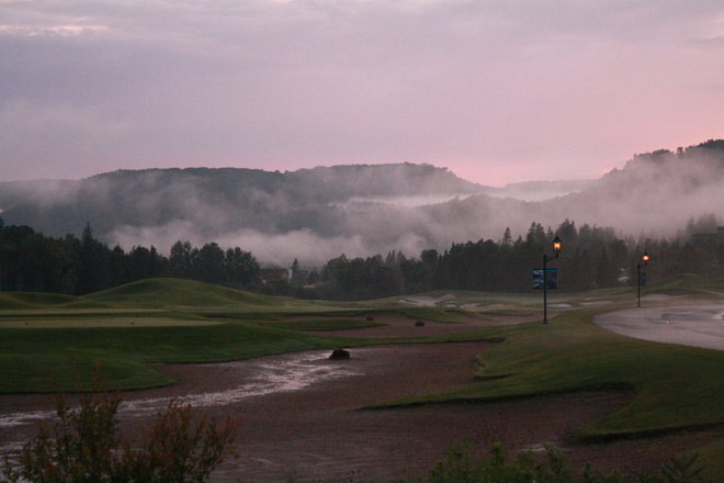 Foggy on the Green Mont-Tremblant, QC
