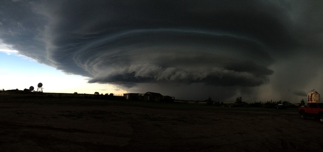 Storm that was coming Major, SK