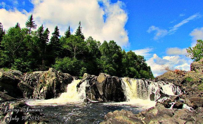 """""""Indian River Falls"""" Springdale, Newfoundland and Labrador Canada"""