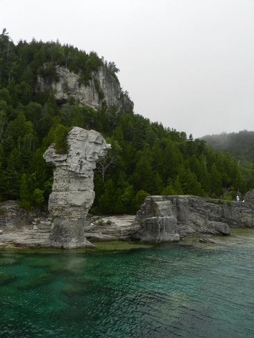 The Face of Flowerpot Island Tobermory, ON