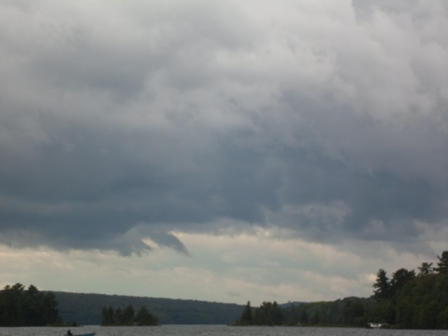 Active Clouds over Elliot Lake today Elliot Lake, Ontario Canada