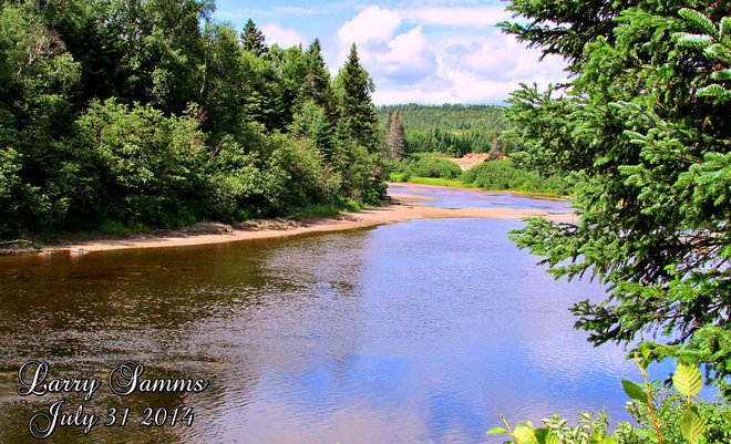 """Indian River"" Springdale, Newfoundland and Labrador Canada"