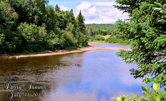 """""""Indian River"""" Springdale, Newfoundland and Labrador Canada"""
