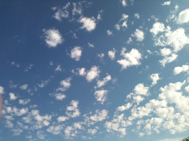 clouds Huntingdon, Quebec Canada