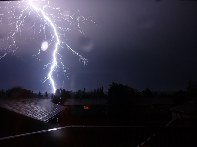 Lightening Storm in Fort McMurray - Avery & Justine Salahub 120 Roundel Place, Fort McMurray, AB