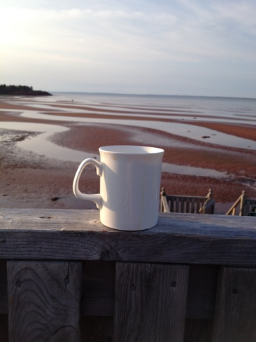 Morning coffee Kinlock, Prince Edward Island Canada