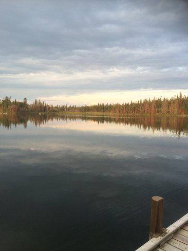 The evening calm La Ronge, Saskatchewan Canada