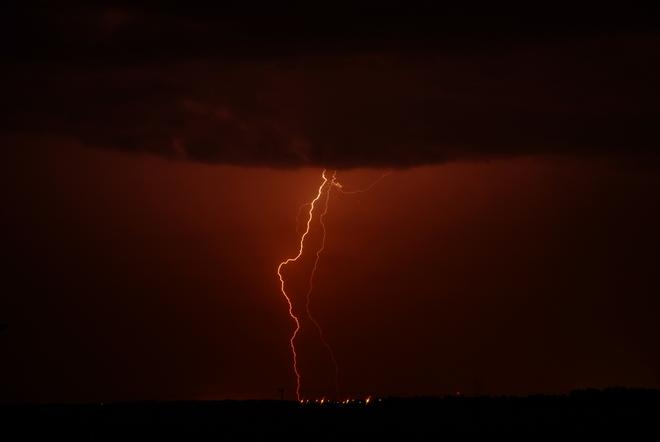 3 A.M lightning Leduc, AB Leduc, AB