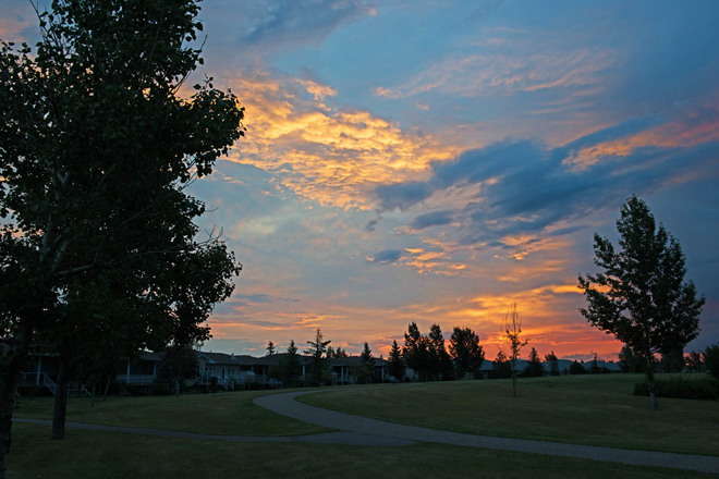 Sunrise After the Storm Lethbridge, Alberta Canada