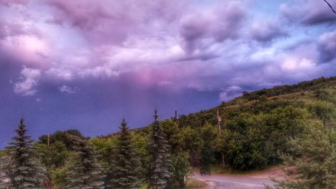 After the rain Fort Qu'Appelle, SK