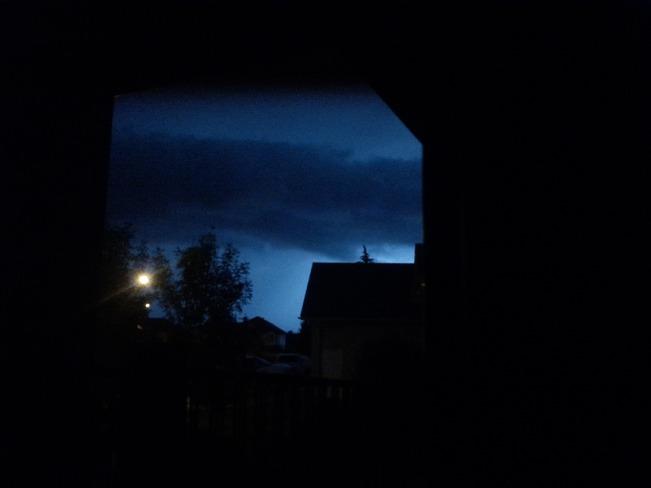 Lightning on the prairies Brooks, AB