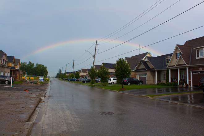Monday Night Rainbow Courtice, ON