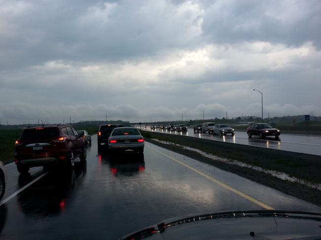 the 407 closure Ontario