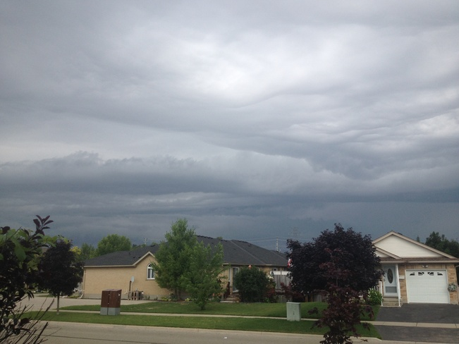 cloudy Kitchener, Ontario Canada
