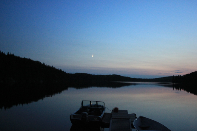 New Moon Lac Seul, ON