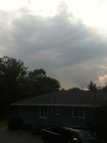 Possibly a thunder cloud Quispamsis, New Brunswick Canada