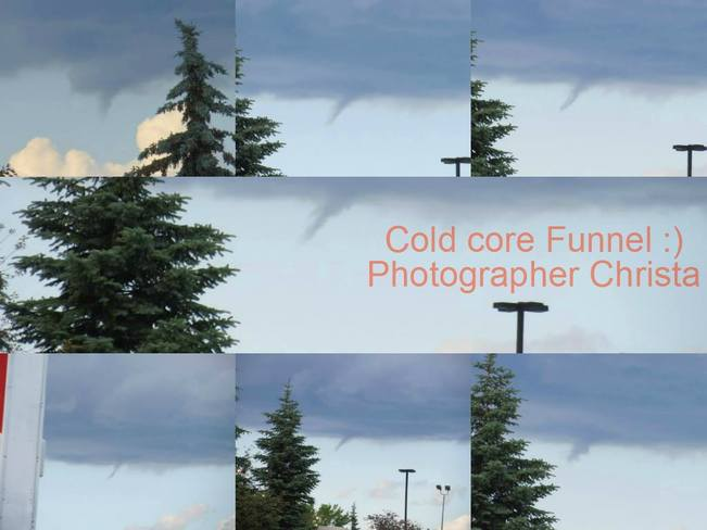 Cold core Funnels Sherwood Park, AB