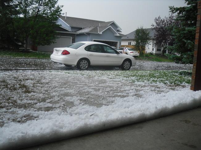hail storm Airdrie Aug 07 14 Airdrie, AB