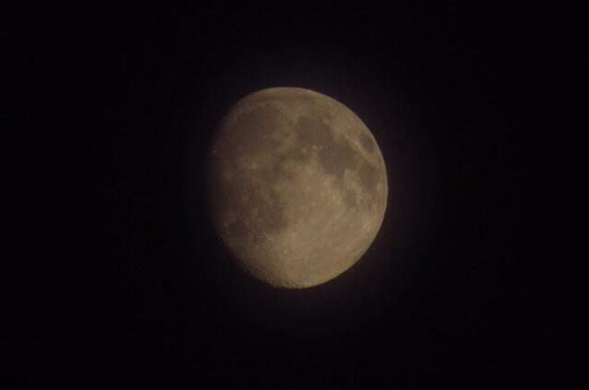 Moon Stony Mountain, Manitoba Canada