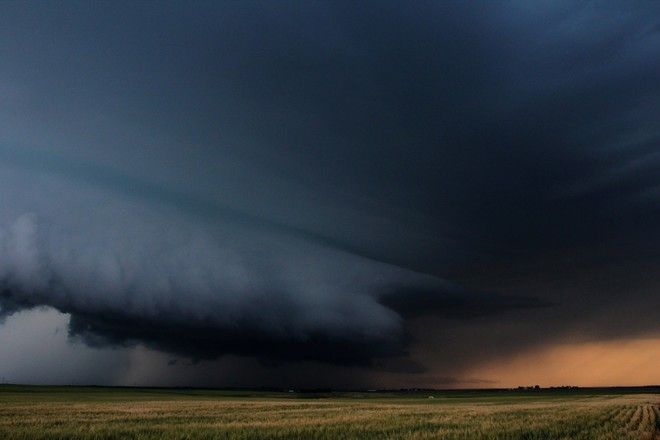 Supercell August 7, 2014 Airdrie, Alberta