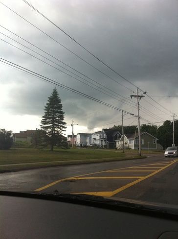 Funnel Cloud Glace Bay, Nova Scotia Canada
