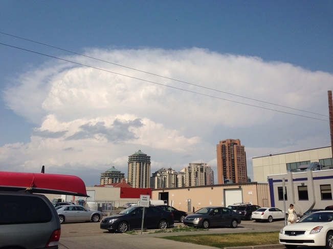 airdries supercell from Calgary Calgary, Alberta Canada