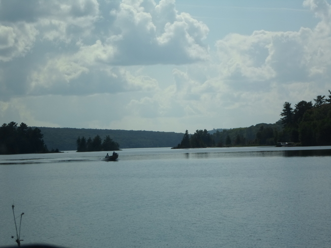 Beautiful Day to go BOATING here in ELLIOT LAKE Elliot Lake, Ontario Canada