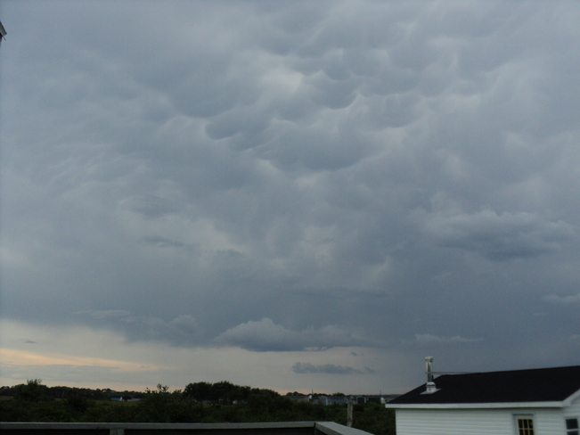 Clouds I've never seen before Glace Bay, NS