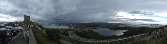 thunder storm approaching St. John's, Newfoundland and Labrador Canada